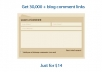 40,000 blog comment links for your website