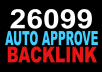 reate AMAZING 26099 Auto Approve Backlink for your website to Boost Search Ranking In Googlee Search Guarantee And Google Penguin Friendly