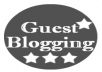 Guest Post On Your Behalf
