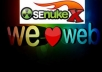 create OVER 500 links with Senuke X, order 3 and get 1 free Senuke X run