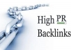 Get you 20 PR5 backlinks of actual page doflow
