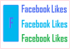 Deliver You MORE 2000 ++ Facebook Likes Page