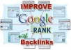 build you PR5+ Panda defeat 30 profile link wheel Backlink Indexing Service that will help you bring your site to Google page 1