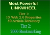 Build Powerful Linkwheel and Bookmarking Backlink 