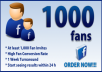 Get You 1000 Mannual Facebook Likes