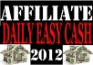 give you an amazing 2012 report on affiliate marketing by which you can earn regular cash