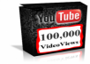  Give You a 100,000+ (100+) Guaranteed, Safe, Very Urgent YOUTUBE Views 
