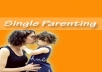 give you 50 top quality articles on Single Parenting plus I will give you full PLR Private Label Rights to them