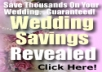 give you 50 top quality articles on Wedding Planning plus I will give you full PLR Private Label Rights to them