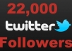 give u more then 22,000+ real twitter followers with out needing ur id password ur account will be safe no eggs all with pics all just