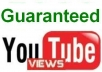 give you 102,000+ (102k+) Guaranteed, Safe, Real and Very Fast Youtube VIEWS