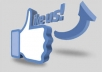 provide you 500+ Facebook status/ photo likes in 24 hours or longer for