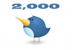 give you 2.000 Real Followers on your twitter without needing password!