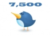 give you 7.500 Real Followers on your twitter without needing password!