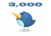 give you 3000 Real Followers on your twitter without needing password!