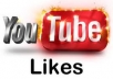 give you 100 youtube likes for your youtube video in 24 hours just