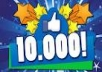 give u 10000 facebook like