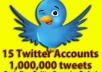 give you 5million tweets for 50 dollars or 8million tweets for 70 dollars or 85000 tweets 2 times