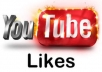 give 500 Youtube video likes with in 24 hours just