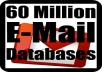 Give Your 60 Million E-mail Databases