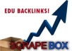 get you 350 EDU backlinks for your site from edu blogs
