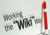 create 100+ Wiki links with your keyword and ping all links