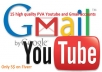 creat 15 high quality PVA Youtube and Gmail accounts within 24 hour