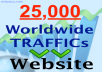 direct 25,000 traffic hits to your website and promote your website to over 5,000 people from one of our BEAUTIFUL angels facebook pages