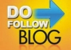 will create dofollow blog comments 10 PR3 + 10 PR4 AUTHORITY