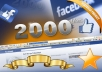 add 2000+ FACEBOOK Fan Page Verified Likes