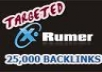 provide 25000 verified forum profile backlinks (buy 2 and get 1 free) limited time offer