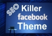 Give Killer Facebook Themes For Fan Page