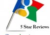 deliver 3 awesome and good five star reviews on Google maps or places for SEOClerks users