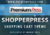 give you shopperpress version 7 with the licency so you can use for many website you have