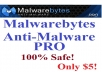 give you Malwarebytes Anti Malware PRO with the ID and SERIAL
