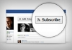 get you 300+ subscribers to your Facebook Profile and I will Tweet your Page or website to 300000+ Twitter Followers
