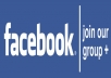 Promote your WEBSITE/any LINK to over 200,00,000(20million)+ Facebook group members and 13,000+ Facebook fans