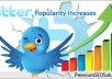 add more than 40000 Real Looking twitter followers without need of password in just 24 hours after order