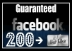 give you 2050 facebook page like only