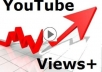 give you  1000+ REAL YouTube views +50 Subscribers +50 Likes +50 Favorites  [Real People No Bots] 