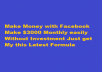 show you how you can make money with Facebook  at least $3000 monthly