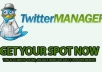 send 22,000+ twitter follower on your profile maximum followers have pictures, bio and english without needing admin access