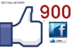 give you 900 FACEBOOK likes fans to any page in less then 24 hours