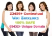 build 1400 Super Quality Blog Backlinks that will help you dominate the first page of Google
