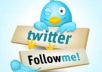 increase 5200++ real twitter followers to your account just within 12 hours without pass