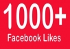add 1150++ REAL  facebook likes