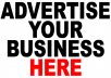 advertise you Permanently on my site with over 25 million hits