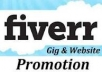 inform your gig site/fiverr site/micro job site or social exchanger site to different good PR gig or fiverr web sites to 25 high rating sellers or buyer by personal message with post proof