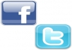promote your Website to over my 150000+ ACTIVE and Loyal Facebook Friends, 40000+ Facebook Fan, and also 100000+ Twitter Followers
