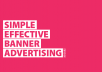 advertise you banner in header of my website (2k traffic/day)